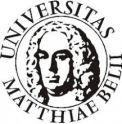 Logo Matej Bel uni copyright MBU